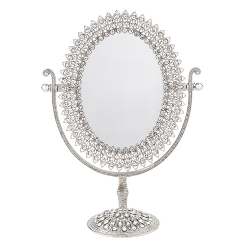 MR1301 OVAL MAGNIFIED STANDING MIRROR